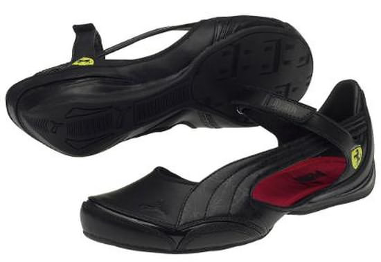 FERRARI SPEED PRINCESS BALLERINA - BLACK