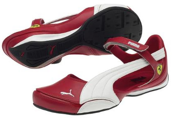 FERRARI SPEED PRINCESS BALLERINA - RED