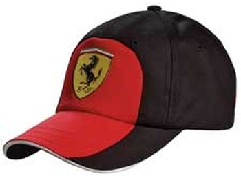 2010 PUMA FERRARI GRAPHIC CAP - BLACK / RED
