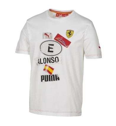 2010 FERRARI LIFESTYLE SPAIN TEE - FERNANDO ALONSO