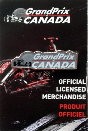 GRAND PRIX DU CANADA OFFICIAL PIN - BIOSPHERE