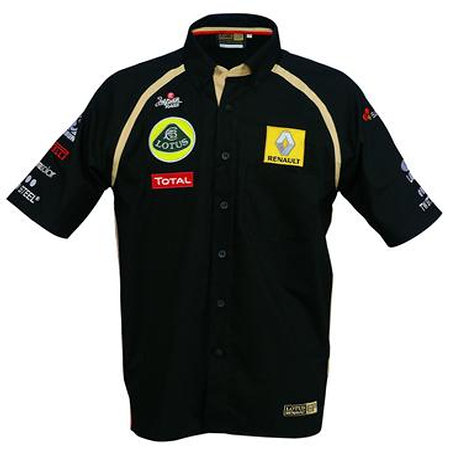 2011 LOTUS RENAULT F1 TEAM SHORT SLEEVE SHIRT