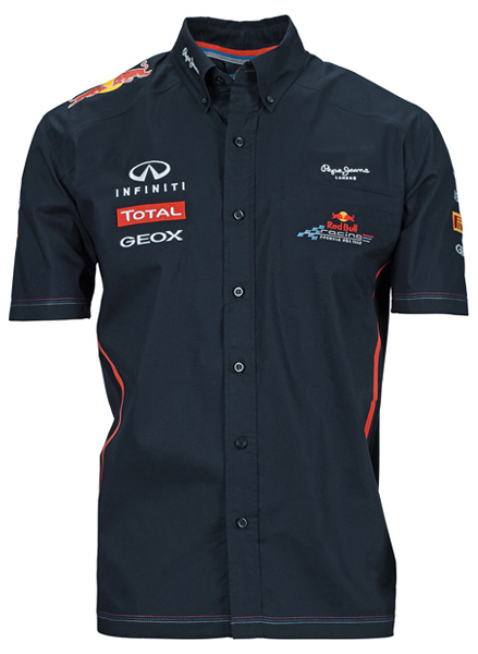 2012 RED BULL RACING F1 TEAM SHIRT MEN