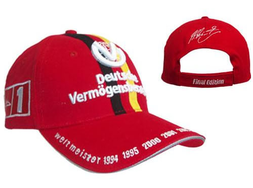 2007 M.SCHUMACHER 7 TIME WORLD CHAMPION CAP