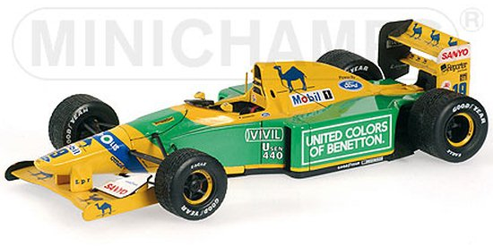 1992 BENETTON FORD B192 1ST GRAND PRIX WIN � M. SCHUMACHER