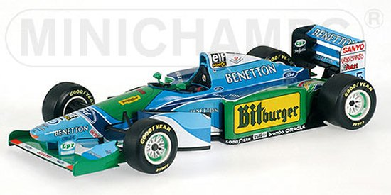 1994 BENETTON FORD B194 CHAMPION DU MONDE � M. SCHUMACHER