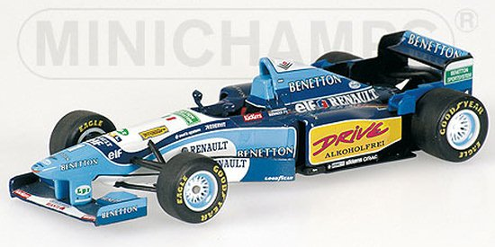 1995 BENETTON FORD B195 WORLD CHAMPION � M. SCHUMACHER