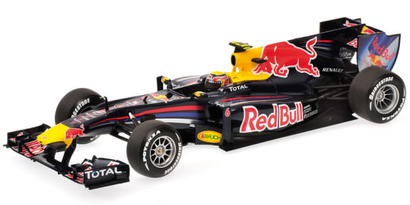 MINICHAMPS 1/18 2010 RED BULL RACING RB6 - MARK WEBBER