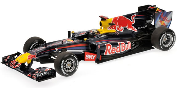 2010 RED BULL RACING RENAULT RB6 BRAZIL GP - SEBASTIEN VETTEL