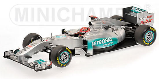 2011 MERCEDES GP F1 TEAM SHOWCAR - MICHAEL SCHUMACHER