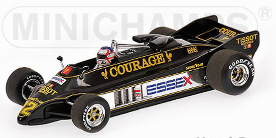 1/43 MINICHAMPS 1981 LOTUS 88 BRITISH GP - NIGEL MANSELL