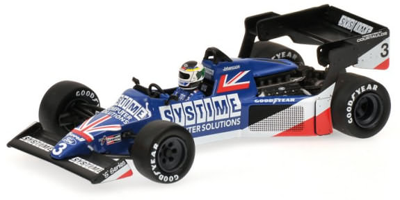MINICHAMPS 1/43 1984 TYRELL FORD 012 BRITISH GP � S. JOHANSSON