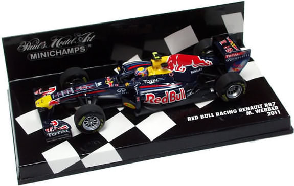 2011 1/43 RED BULL RACING RENAULT RB7 - MARK WEBBER
