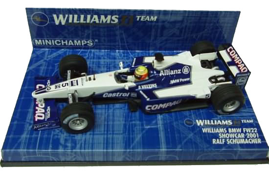 2001 WILLIAMS BMW SHOWCAR � R. SCHUMACHER