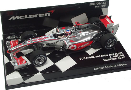 2010 VODAFONE MCLAREN MERCEDES SHOWCAR - JENSON BUTTON