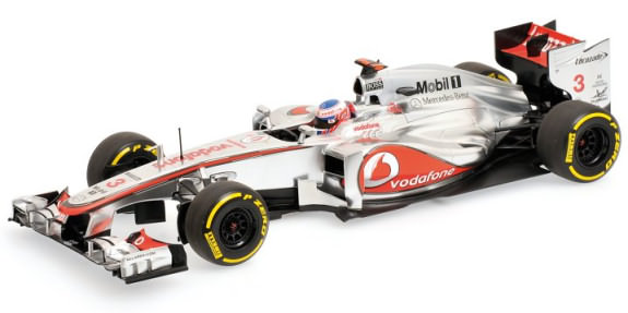 MINICHAMPS 1/18 2012 MCLAREN MERCEDES MP4-27 JENSON BUTTON