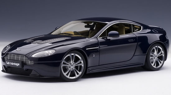 1/18 ASTON MARTIN V12 VANTAGE 2010 - MIDNIGHT BLUE