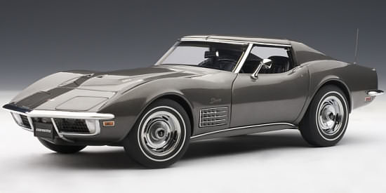 1/18 CHEVROLET CORVETTE 1970 - LAGUNA GREY