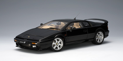 1/18 LOTUS ESPRIT V8 - BLACK