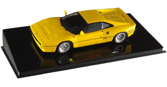 HOT WHEELS ELITE FERRARI 288 GTO - YELLOW