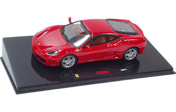 HOT WHEELS ELITE FERRARI F430 - RED