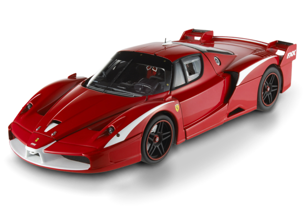 HOT WHEELS ELITE FERRARI FXX EVOLUZIONE - RED