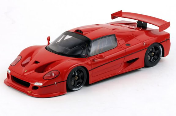 TRUE SCALE MINIATURES 1/18 1996 FERRARI F50 GT - RED