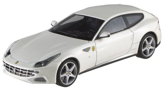1/18 HOT WHEELS ELITE FERRARI FF - PEARL WHITE