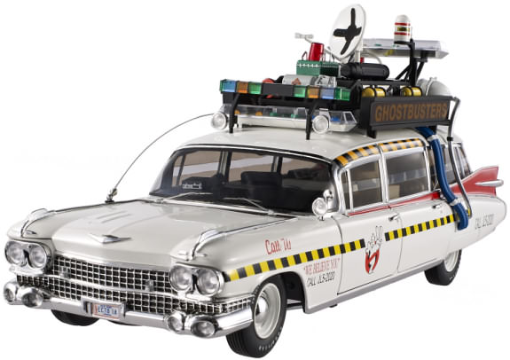 HOT WHEELS 1/18 ELITE GHOSTBUSTERS ECTO 1A