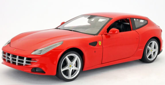 1/18 HOT WHEELS FOUNDATION FERRARI FF - ROUGE