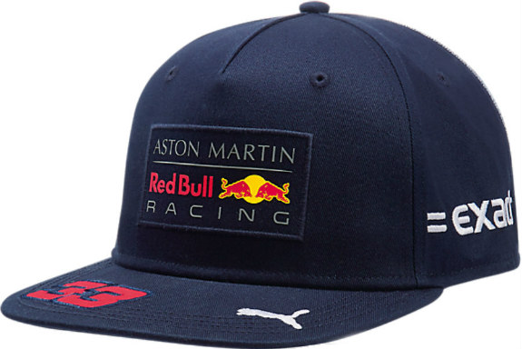 d33b5e43842 2018 SEASON MAX VERSTAPPEN  33 FLAT BRIM ADULT DRIVER CAP TEAM LOGO AND  33  ON PEAK ADJUSTABLE SNAP BAND New with tags Puma Item    021530-01