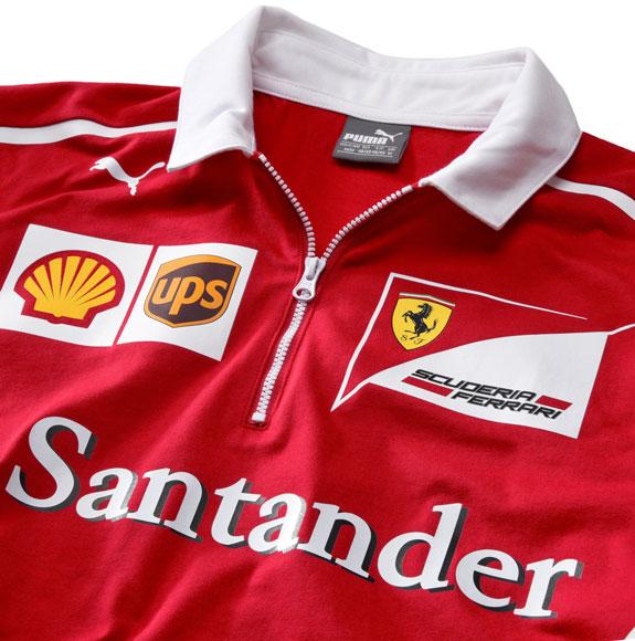 42fbcab946 and Santander Logo on front panel ; Puma Cat Logo; Italian flag print on  side panels; printed team sponsors on sleeves, contrast shoulder and collar,