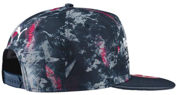 294fe9fba Puma Red Bull Racing F1 Team 2017 New Block cap Hip Hop style flat visor cap  Total Eclipse - RBR AOP, snapback