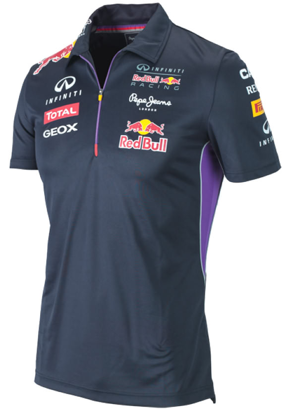 authentic pepe jeans infiniti red bull racing f1 team 2014 men zip polo t shirt ebay. Black Bedroom Furniture Sets. Home Design Ideas
