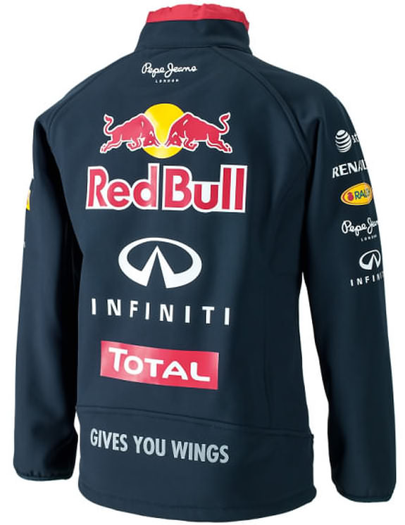 7255a8552de AUTHENTIC PEPE JEANS INFINITI RED BULL RACING F1 TEAM 2014 KIDS SOFTSHELL  JACKET