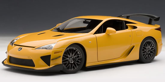 autoart signature series 1 18 2011 lexus lfa n rburgring package orange 78836 ebay. Black Bedroom Furniture Sets. Home Design Ideas